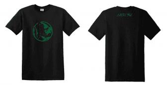 Zöld íjász kétoldalas egyedi grafikás férfi póló - Pólók többféle ... a849358369