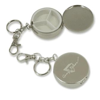 Gravírozott fém gyógyszertartó egyedi szöveggel vagy logóval ... 4edb28c943