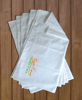 150 x 70 cm-es 10 db-os vászon szaunalepedő logóval ff7e745abf