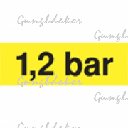 1,2 bar sárga matrica